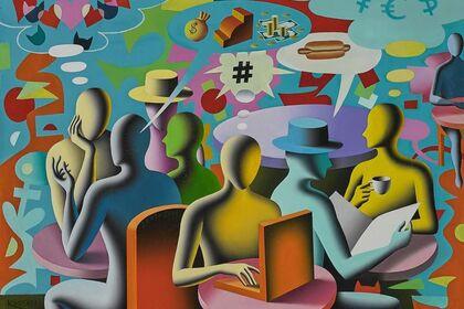 Mark Kostabi Exhibition