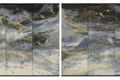 Washi Screens by Kyoko Ibe