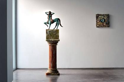 Allison Schulnik: The Centaurette Bronzes