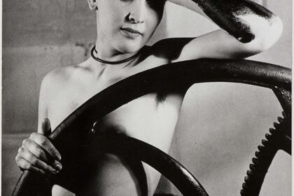 Meret Oppenheim meets Man Ray