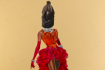 Beyoncé and Diana Ross Don African Tribal Masks in Margaret Rose Vendryes's Latest Show