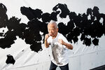 """Ushio Shinohara, """"the Warhol of Japan,"""" Lands More Punches with His Latest """"Boxing Paintings"""""""