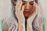 """Martine Johanna's """"Dancer"""" Explores  the Psychology of Color and Gesture"""