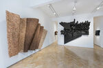 Leonardo Drew's Undulating Wood Sculptures Question the Natural