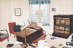 Swedish Artist Mamma Andersson's Haunting, Nordic Scenes on Paper