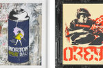 Which Fellow Street Artist Helped Launch Mr. Brainwash's Career?
