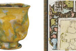 Which Ceramicist Has Been Immortalized in the Work of Jasper Johns?