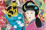 "Wandering Wang Mengsha's Lively ""Gardens"" at Alisan Fine Arts"
