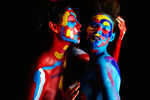 """A Painter and a Photographer Treat Models like Moving Canvases in """"Raw Beauty"""""""
