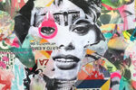 Pop Art, Fashion, and Graffiti Merge in DAIN's Street Art-Inspired Collages
