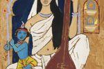 Maqbool Fida Husain's Epic Love of The Eternal City
