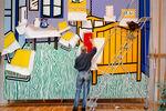 Looking at Lichtenstein Looking at van Gogh