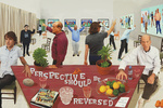 David Hockney's Latest Paintings Flip Perspective on Its Head