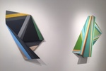 Origami Meets Architecture in Rachel Hellmann's Sculptural Paintings