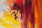 In Fiercely Expressive Paintings, Abstract Expressionist Edvins Strautmanis Lives On