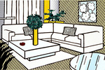 "Lichtenstein's ""Interiors"" Are a Touchstone for the Pop Master's Late Work"