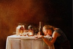 In Dramatic Still Lifes, A Contemporary Painter Channels the Old Masters