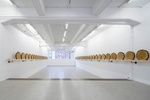 A Dissected Cedar Tree Drives Xavier Veilhan's Show in Stockholm