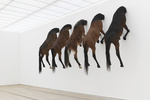The Art World's Provocateur, Still Horsing Around