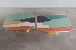 India Mahdavi Brings Technicolor Landscapes to Design Miami/ Basel