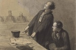 Daumier: Imprisoned for painting a cartoon of the king