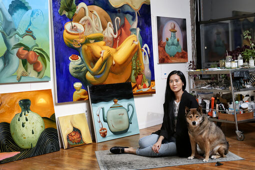 Dominique Fung Upends Persisting Fantasies of Asian Womanhood in Surreal Paintings