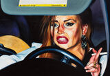 I'm Obsessed with This Painting of a Distressed Lindsay Lohan