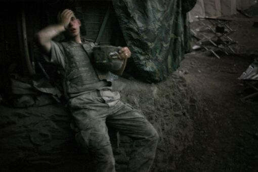 The Physical and Psychological Toll of Photographing War