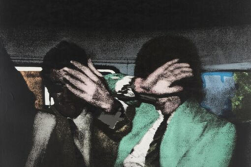 I'm Obsessed with Mick Jagger's Green Jacket in This Richard Hamilton Work