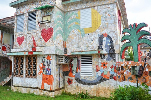 The Havana Neighborhood That's Become One Artist's Mosaic Masterpiece