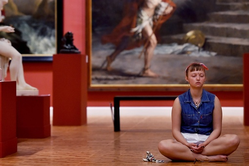 Meditating at a Museum Helped Me Connect More Deeply with Art