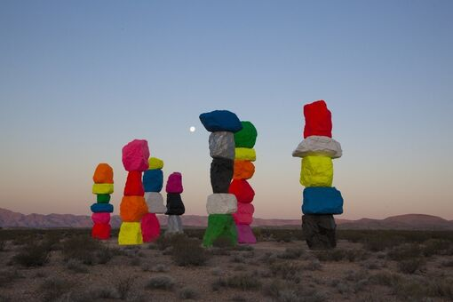 Seven Magic Mountains Was Against the Law—So a Museum Passed a New One