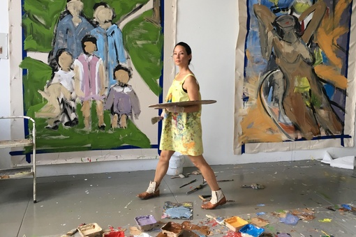 Lucy Liu on Making Art to Find a Sense of Belonging