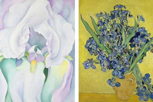 From Van Gogh to O'Keeffe, Art History's Most Famous Flowers