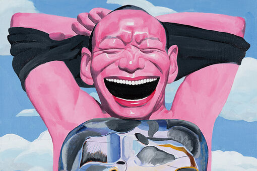 Yue Minjun's Grinning Self-Portraits Are Reaching a New Generation of Collectors