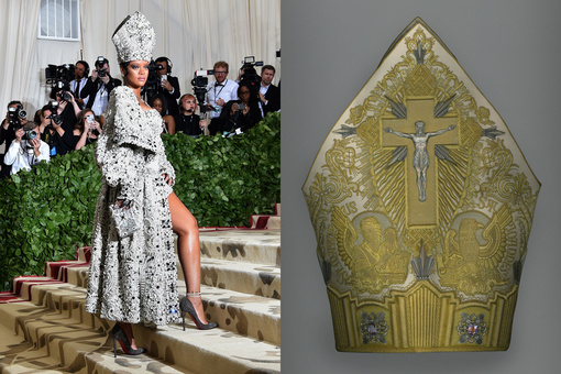 "The Met's ""Heavenly Bodies""—and Rihanna's Hat—Examines Power in the Catholic Church"