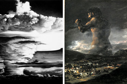 How Robert Longo Found Inspiration in Goya and Eisenstein