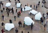 In Wake of Paris Attacks, Eliasson's Ice Blocks Evoke the Human Impact of Rising Temperatures