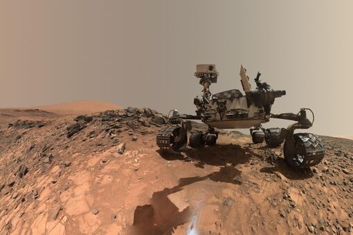Six Years of Photos from Mars Rover Curiosity Offer Breathtaking Views of the Red Planet