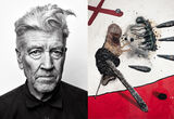 David Lynch Turns His Cryptic Storytelling into Frightening New Canvases