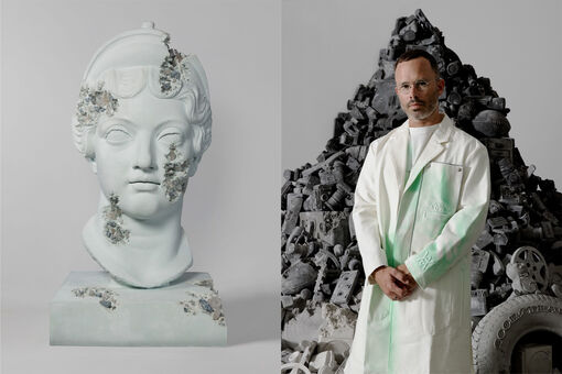Daniel Arsham's Market, from Limited-Edition Toys to Futuristic Fossils