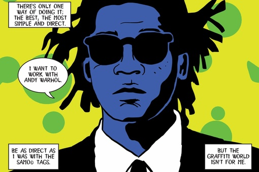 A New Graphic Novel about Basquiat Explores the Artist's Life