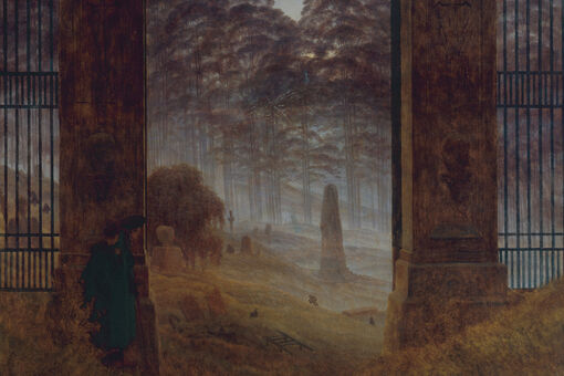 "I'm Obsessed with Caspar David Friedrich's ""The Cemetery Entrance"""