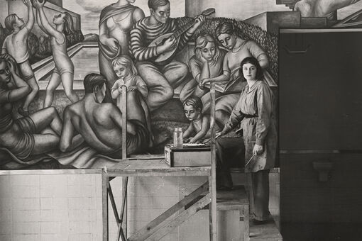 """The Brooklyn-Born Sisters Diego Rivera Dubbed """"The Greatest Living Women Mural Painters"""""""