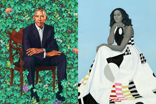 The Masterful, History-Making Portraits of Barack and Michelle Obama
