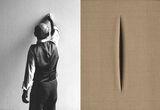 The Salacious Violence of Lucio Fontana's Slashed Canvases