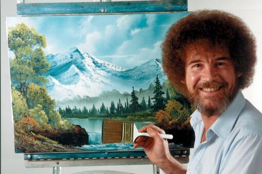 On YouTube, a New Generation of Artists Channels the Spirit of Bob Ross