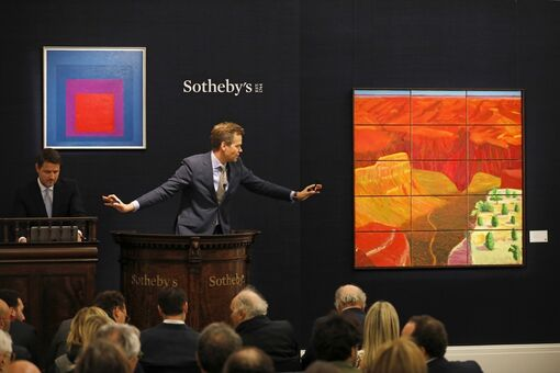 £57 Million Sotheby's Sale Led by Twombly and Hockney