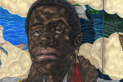 The Enigmatic Stories beneath Toyin Ojih Odutola's Lush Drawings