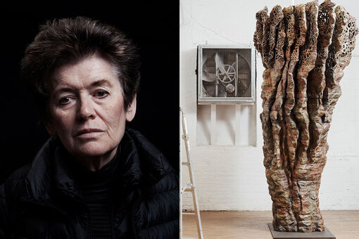 For Ursula von Rydingsvard, Making Art Is a Way to Survive